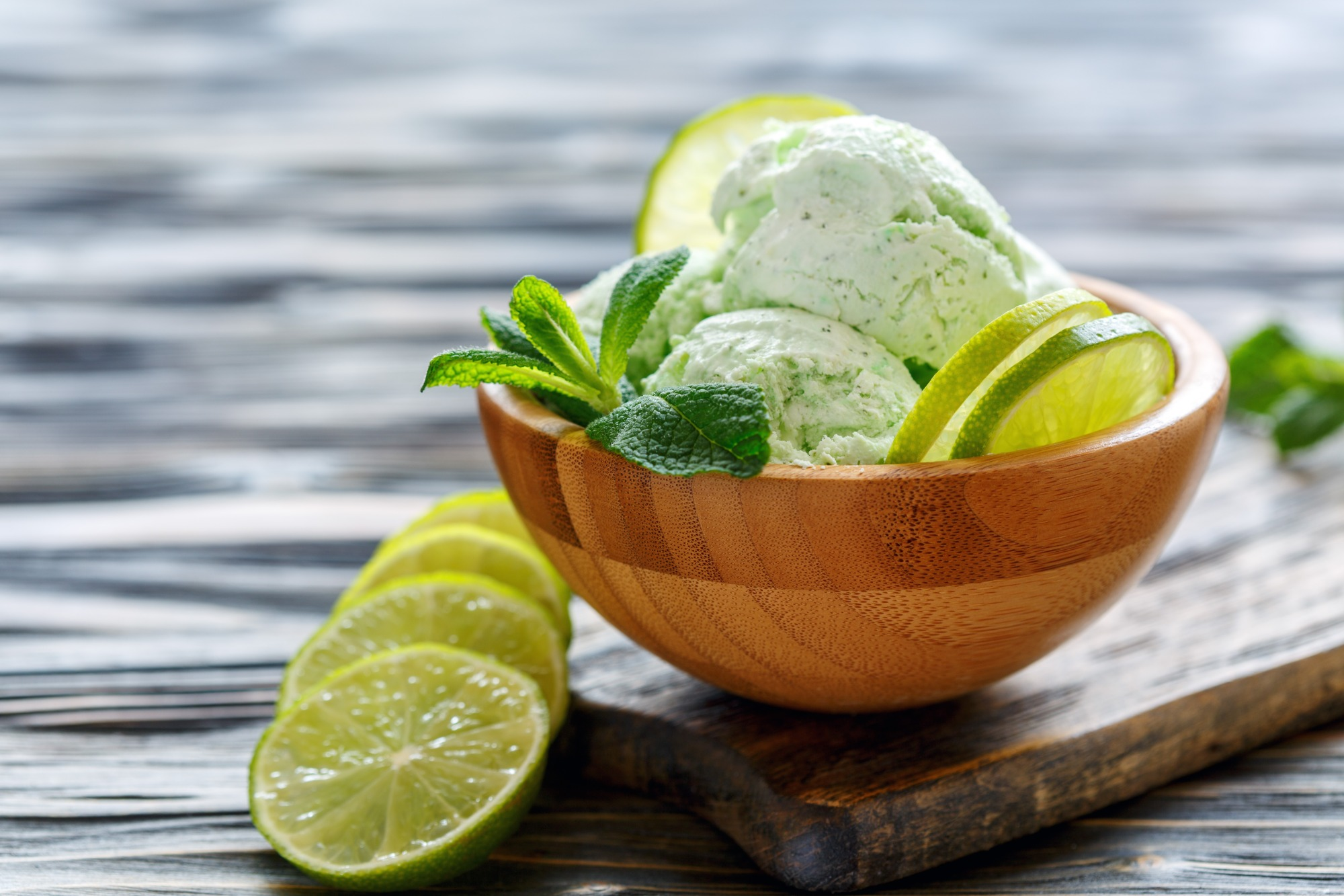 Mojito Sorbet - vegan and gluten free